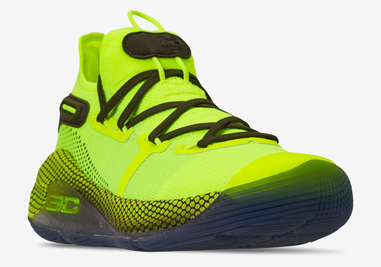 UA Curry 6 Hi Vis Yellow Releases At