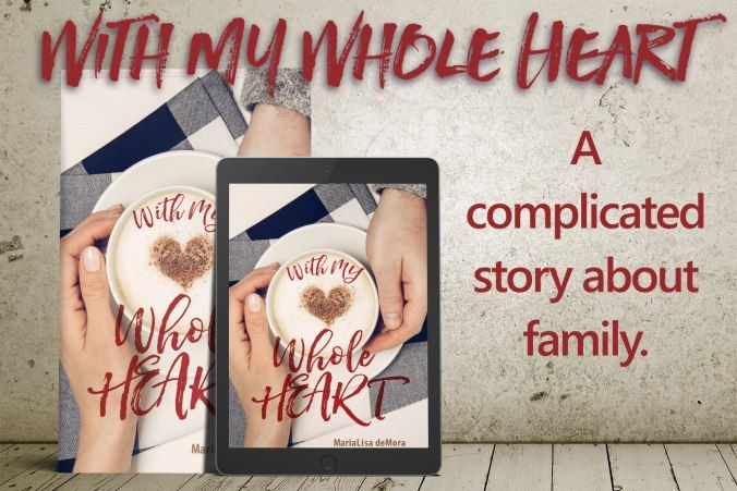 #ComingSoon#WithMyWholeHeart by#MariaLisadeMora  Release date: March 20 2017  Amazon  http://ift.tt/2nxs7GR  Kobo  http://bit.ly/wmwh-kobo  With My Whole Heart is a complicated story about family.  Jaimes a young single mother who is trying to make ends meet feeling like shes always waging an uphill battle to make sure she and her son are housed fed and healthy. Connors designed his life to stay too busy for relationships.  How complicated is it?  Shes his big brothers surrogate and hes the…