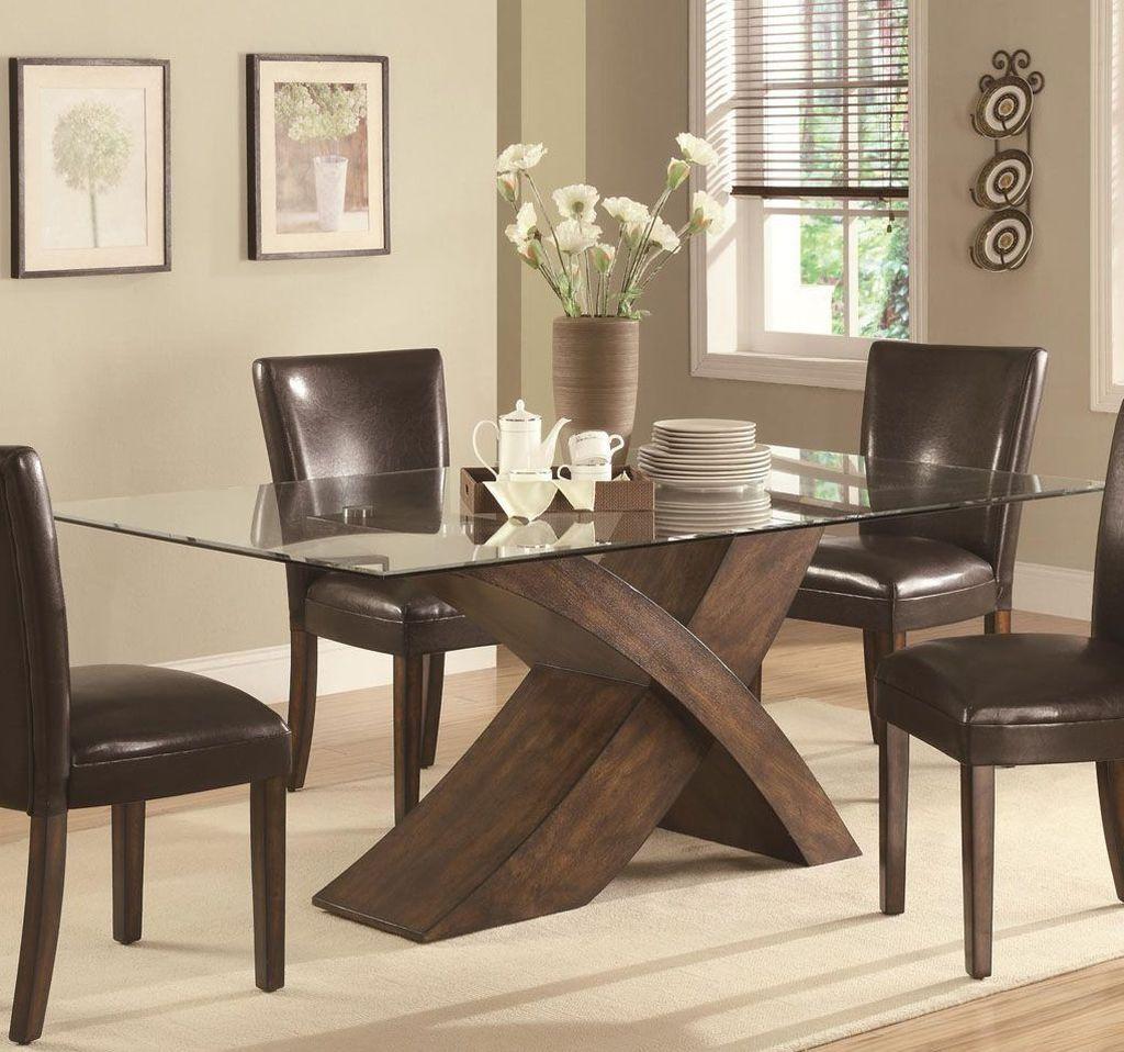 Elegant Dining Table: 46 Elegant Dining Room Glass Table Décor Ideas