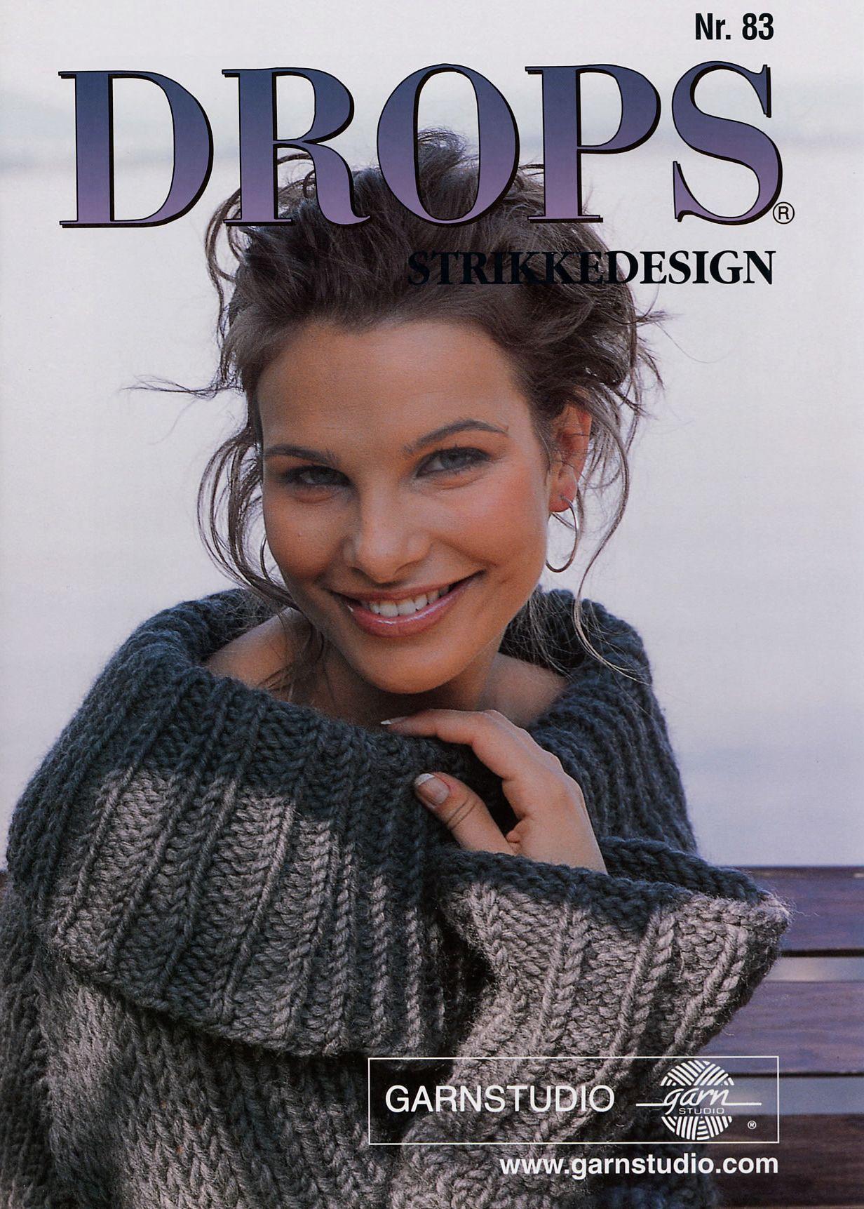 DROPS No. 83 | Hook projects | Pinterest | Drop, Crochet magazine ...