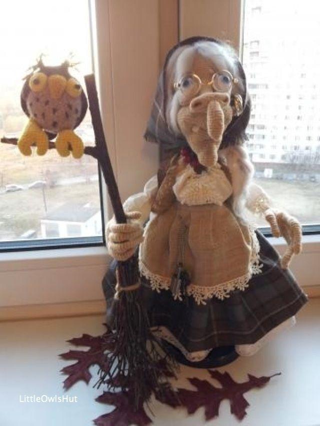 081 Charming Witch - Crochet Pattern PDF file Amigurumi by Astashova ...