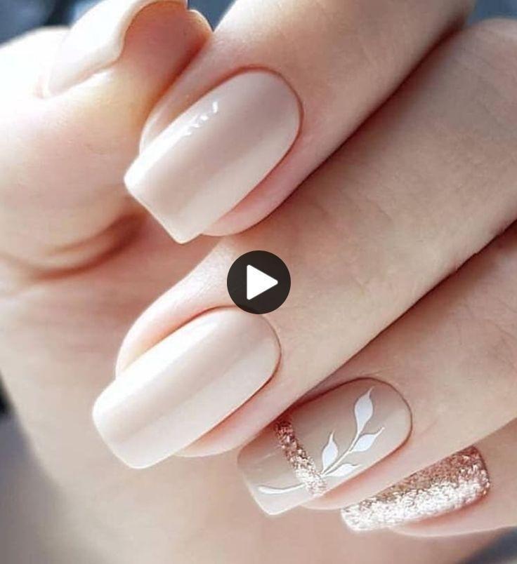 50+ Leuke Nail Art-ontwerpen voor korte nagels 2019