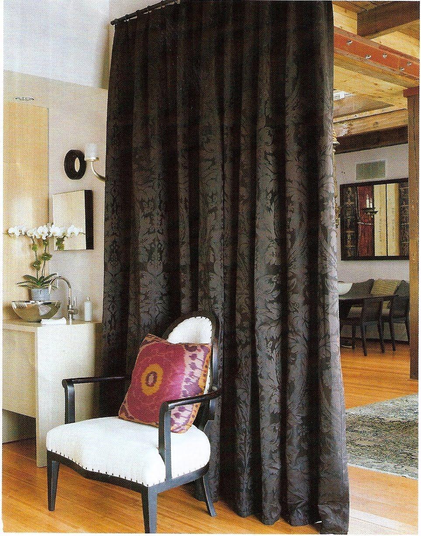 Room divider ideas 964x1228 curtain room divider for small - Room divider curtain ideas ...