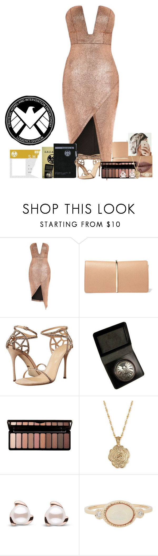 """""""Julie Fishers undercover ( shield agent )"""" by karabear3256 ❤ liked on Polyvore featuring Topshop, Nina Ricci, Sergio Rossi, e.l.f., 2028 and Jennie Kwon"""