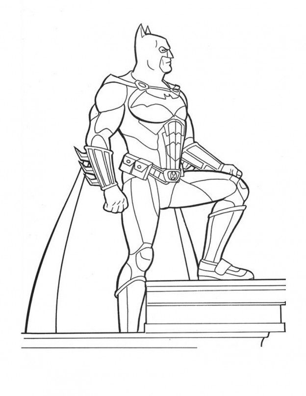 Free Printable Batman Coloring Pages For Kids | Pinterest | Batman ...