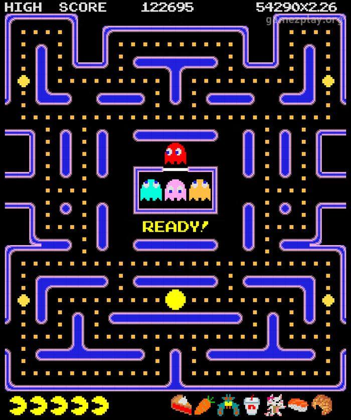 Pacman Maze Wallpaper (08)