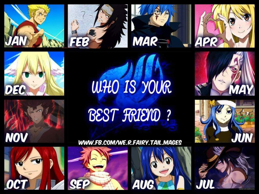Anime Characters Born June 9 : I m so glad that my best friend turns out to be the