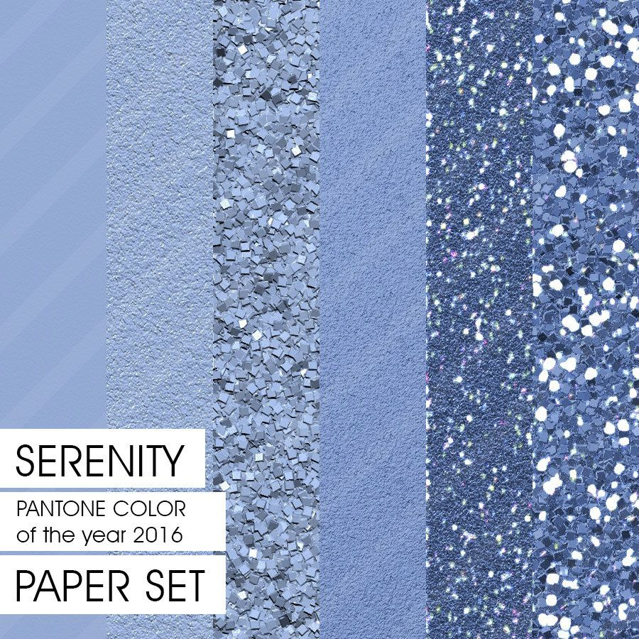 create digitally painted glitter and textured paper sets pantone 2016 pantone and serenity. Black Bedroom Furniture Sets. Home Design Ideas