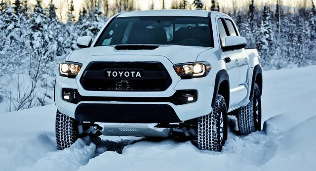 The 2017 Toyota Tacoma Trd Pro Is Loaded With Useful Off Road Features And Rugged Looks It Also Comes A Really Ful Engine Under Hood
