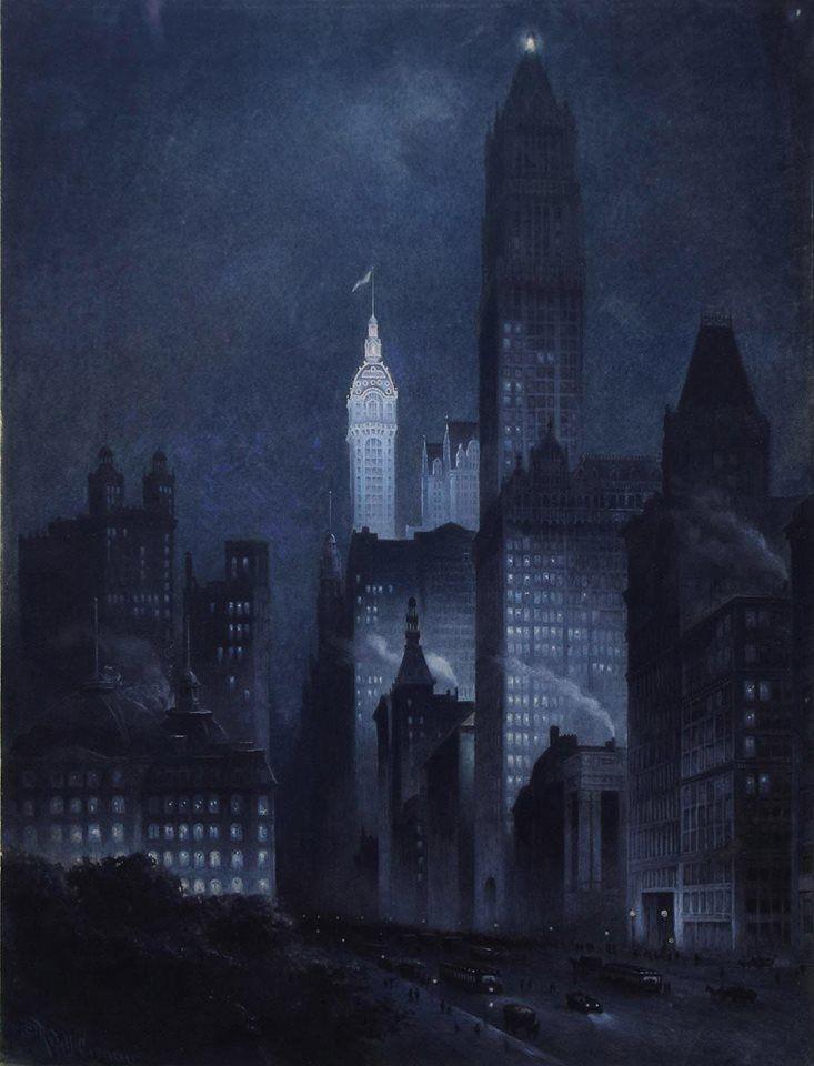 Rudolf Daniel Ludwig Cronau (1855 - 1939), 9 West 57th Street, New York, New York