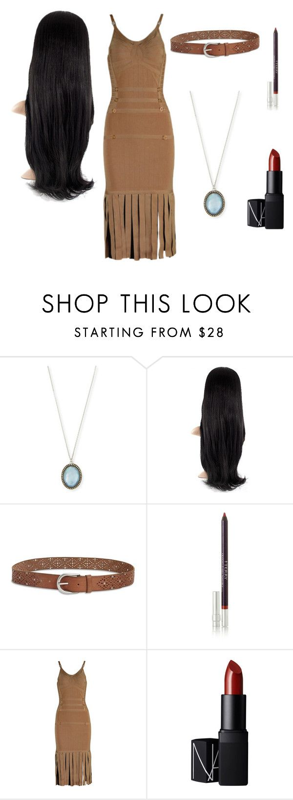 """""""DIY Disney Princesses #8: Pocahantas"""" by fionalilylove ❤ liked on Polyvore featuring Armenta, Lucky Brand, By Terry, Posh Girl and NARS Cosmetics"""