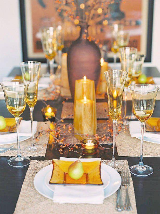 Wie man Thanksgiving Table Decorating macht #tischdekoherbstesstisch