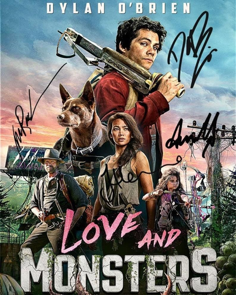 Love And Monsters Dylan O Brien Jessica Henwick Michael Etsy In 2021 Dylan O Brien Movies Love Monster Dylan O Brien