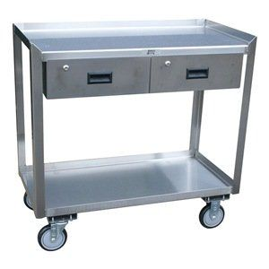 Stainless Steel Cabinet, 35x36x18 In By Jamco. $1013.51. Mobile Workbench,  Mobile,