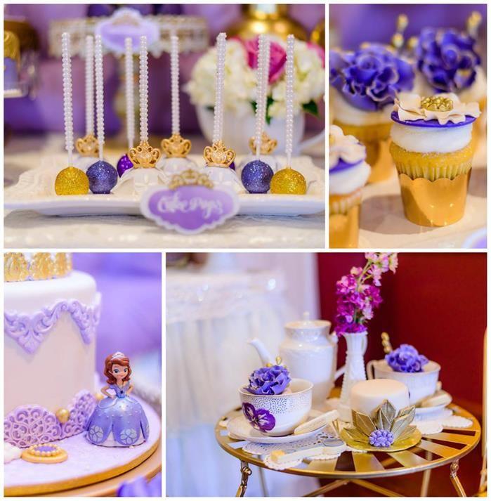 Kara S Party Ideas Royal Princess First Birthday Party: Royal Tea Party Planning Ideas Supplies Idea Cake Decor