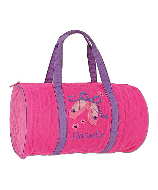 c07b8032a6a0 Ballet Quilted Personalized Duffle Bag