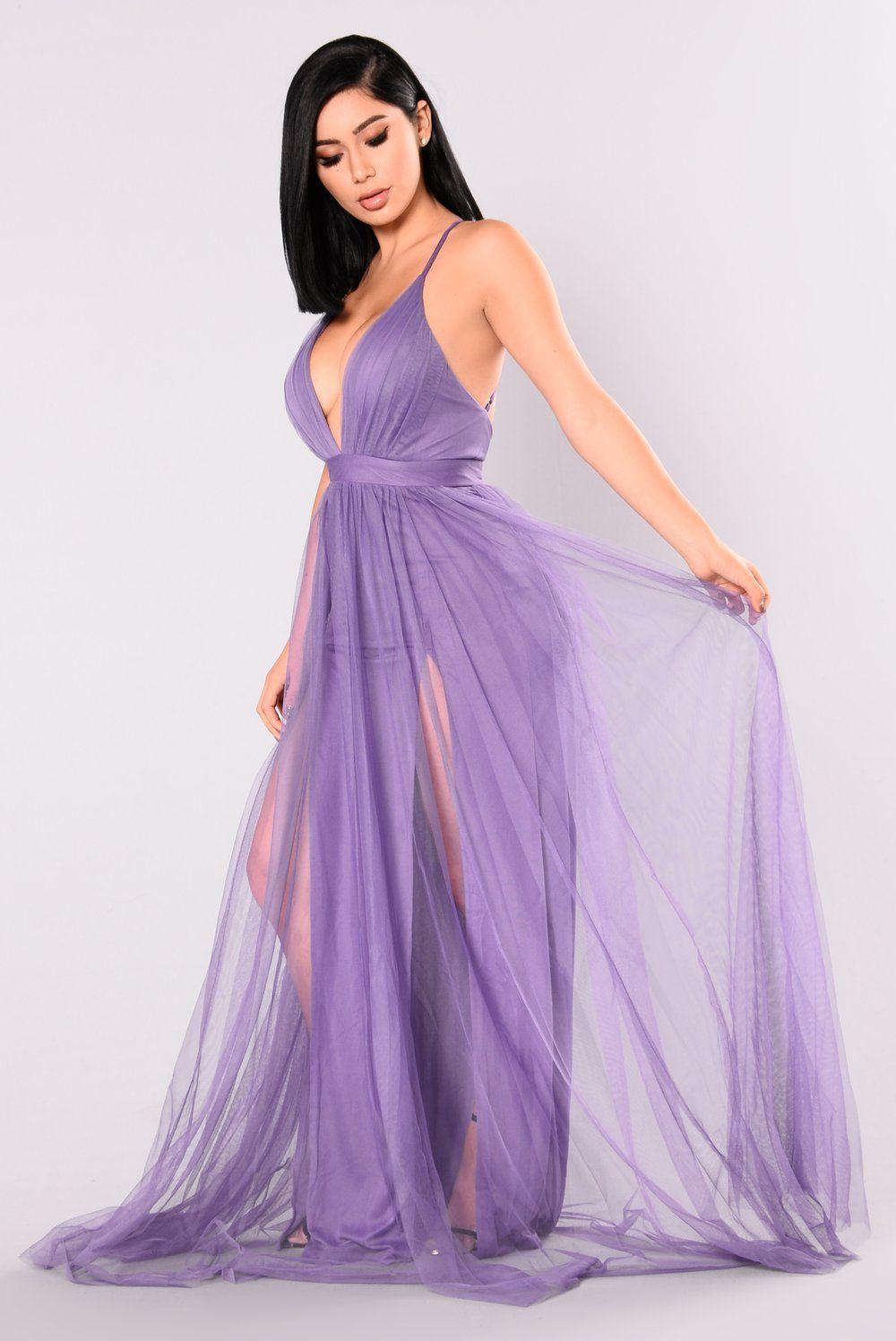 On The Runway Maxi Dress Purple Purple dress, Dresses