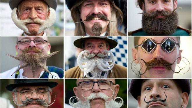 Las barbas y los bigotes más extraordinarios del mundo - BBC Mundo