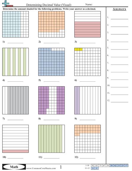 decimal worksheets education decimals worksheets worksheets maths. Black Bedroom Furniture Sets. Home Design Ideas