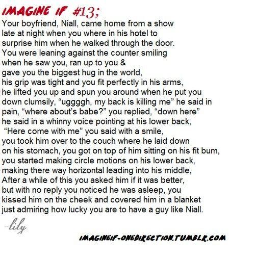 Asleep   Niall Horan    IMAGINES   One direction imagines, Niall