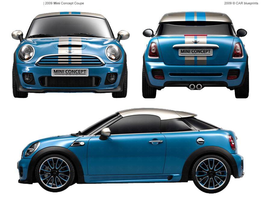 Mini coupe blueprint google 493 pinterest mini coupe malvernweather Choice Image