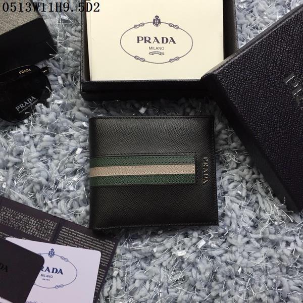 Prada Wallet Green Color
