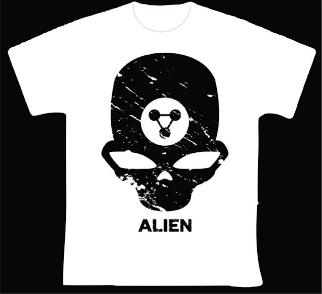 knupSilk - ESTAMPARIA/SERIGRAFIA: Alien