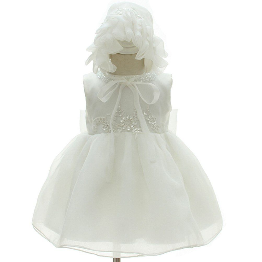 92284814d866 Moon Kitty Baby Girls Beaded Embroideries Baptism Dresses 2 piece Christening  Gown     You can get additional details at the image link.