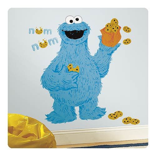 Sesame Street C Is For Cookie Monster Peel And Stick Giant