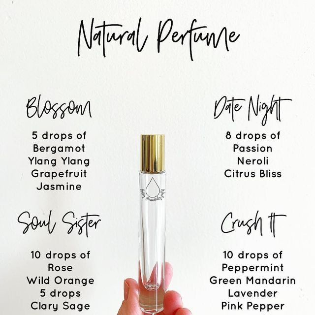 Photo of Make your own perfume with essential oils! (With images) | Essential oil perfumes recipes, Essential