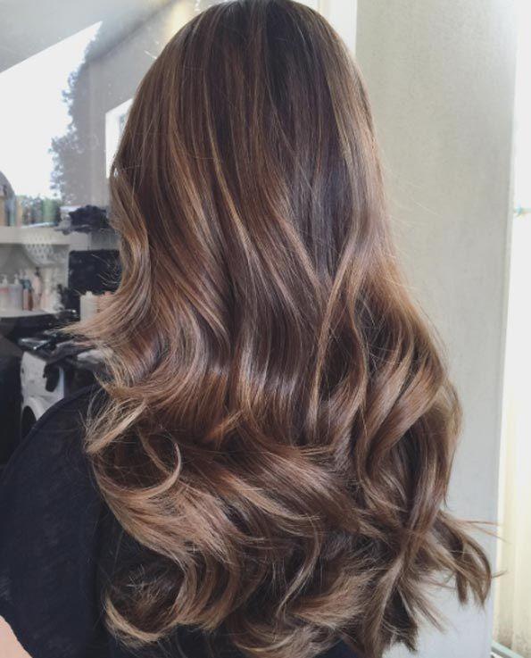 Balayage Cheveux Marron Caramel Les Meilleurs Modèles