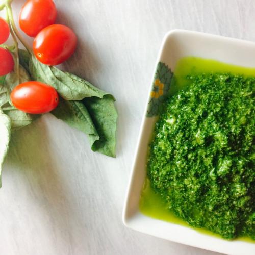 5 Minute Blender Pesto — EDWINA CLARK