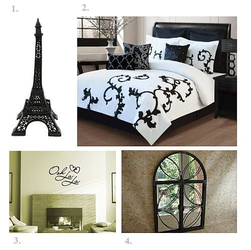 Paris Themed Living Room Ideas | Paris Themed Bedroom