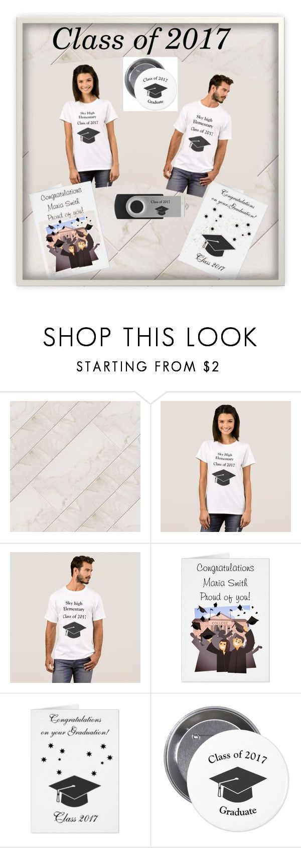 """""""Class of 2017"""" by ditsydot19 ❤ liked on Polyvore featuring interior, interiors, interior design, home, home decor, interior decorating, zazzle and ditsydot19"""