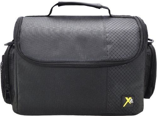 Xit XTCC3 Deluxe Digital Camera/Video Padded Carrying Case, Large (Black) - For Sale Check more at http://shipperscentral.com/wp/product/xit-xtcc3-deluxe-digital-cameravideo-padded-carrying-case-large-black-for-sale/