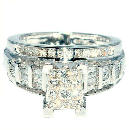 white gold princess cut diamond engagement rings under 1000 dollars are available for sale with heavy discount up to with genuine qualit - Wedding Rings Under 1000