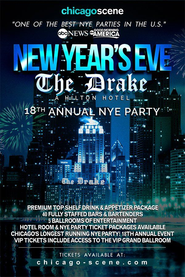 Chicago S Longest Running New Year S Eve Party At The World Famous