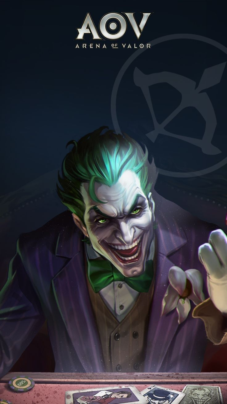 Joker Marksman Arena Of Valor Aov Arena Of Valor Wallpapers Pinterest Joker Games And Comics