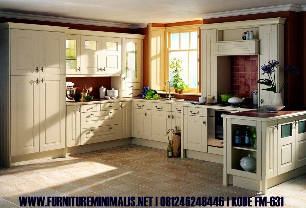 Harga Kitchen Set Kabinet Minimalis Nuansa Klasik Modern Mewah