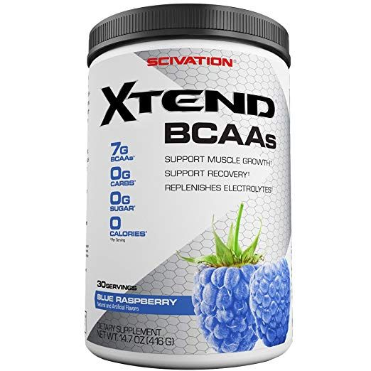 Scivation Xtend Bcaa Powder Branched Chain Amino Acids Bcaas Blue Raspberry 30 Servings Bcaa Bcaa Powder Amino Acids