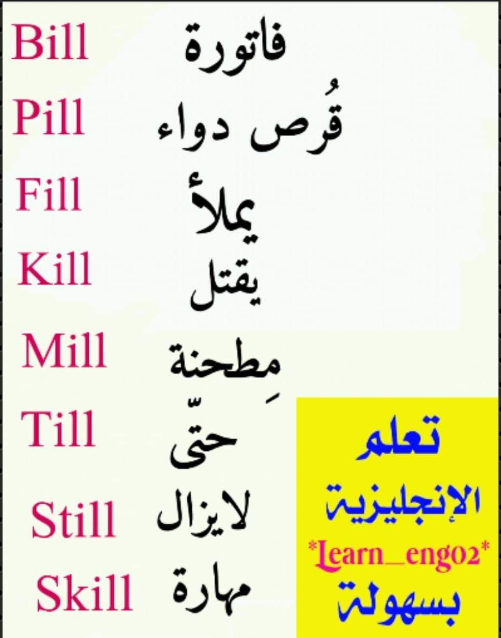 Pin By محمد الخالدي On English Language Learning Learn English Words English Language Learning Grammar English Words