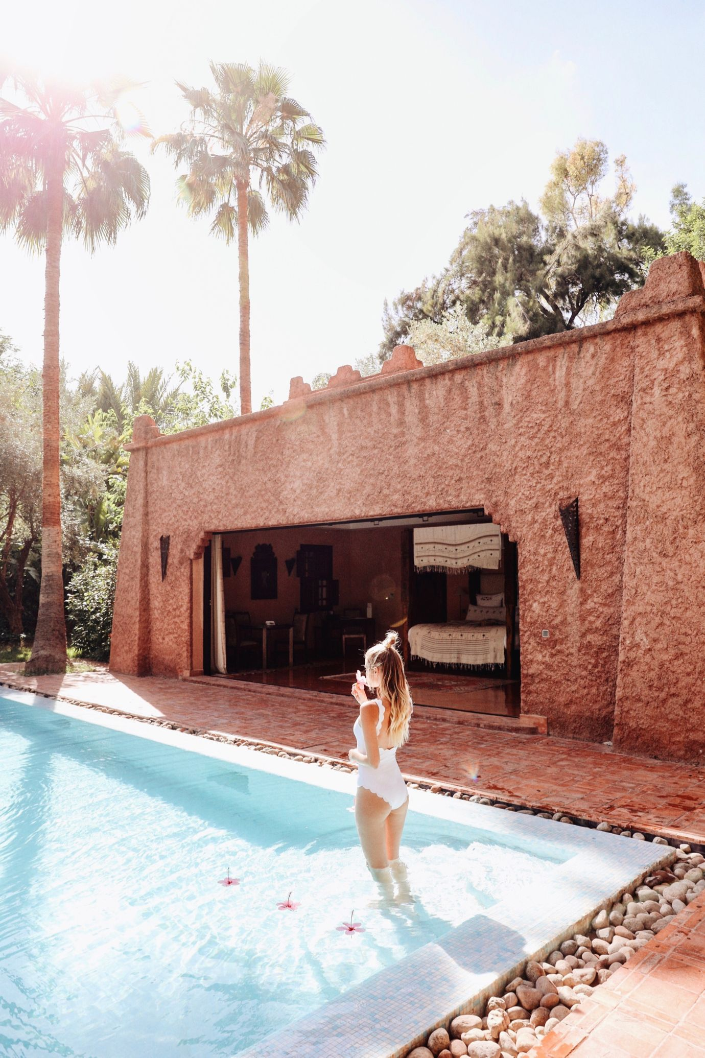 By the Pool, Es Saadi Palace | Marrakech: http://www.ohhcouture.com/2017/06/es-saadi-palace-marrakech/ #leoniehanne #ohhcouture