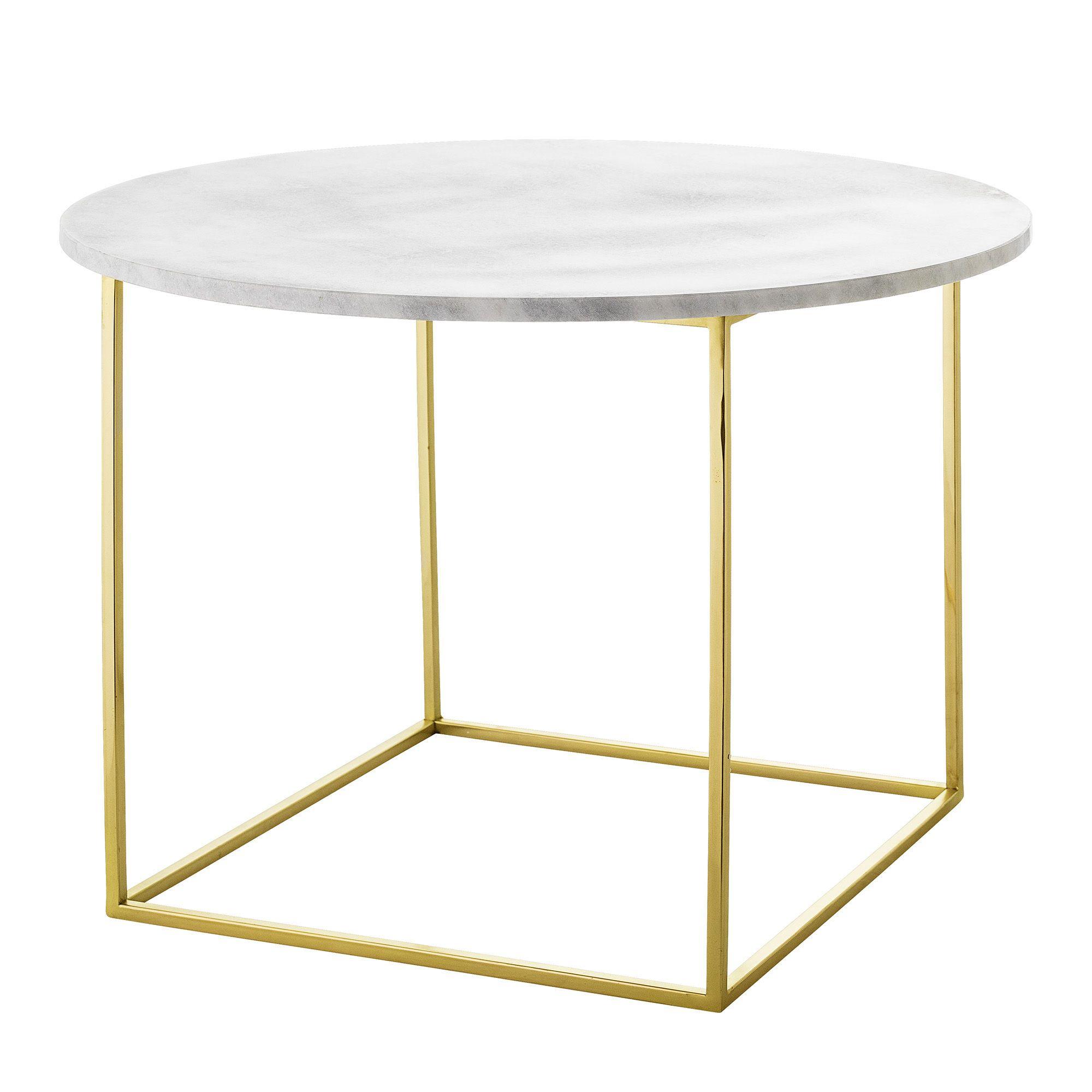 Table Basse Eva Marbre ø 60 Cm Bloomingville In 2019