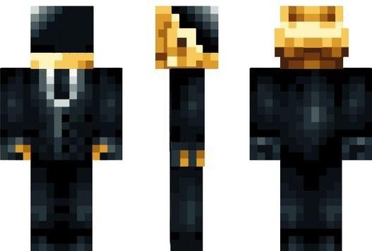minecraft daft punk skins