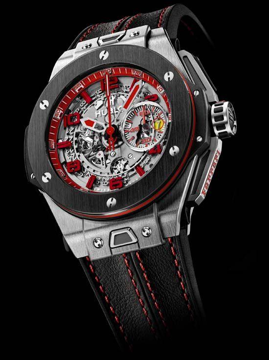 Hublot Big Bang Ferrari UK Limited Edition