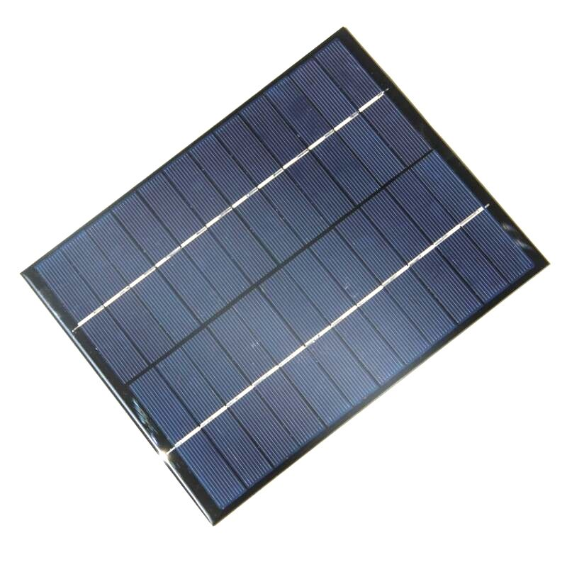 Buheshui 5 2w 5w 12v Solar Cell Solar Module Polycrystalline Diy Solar Panel System Green Power Solar Power Battery Charger Solar Power Batteries Solar Panels