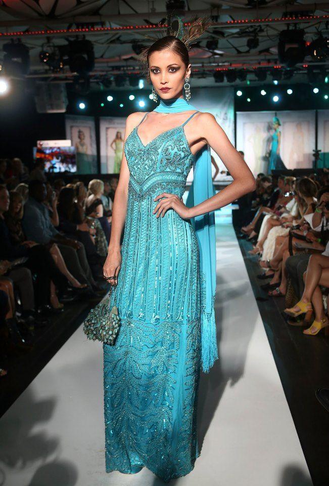 Sue Wong's Fashion Show