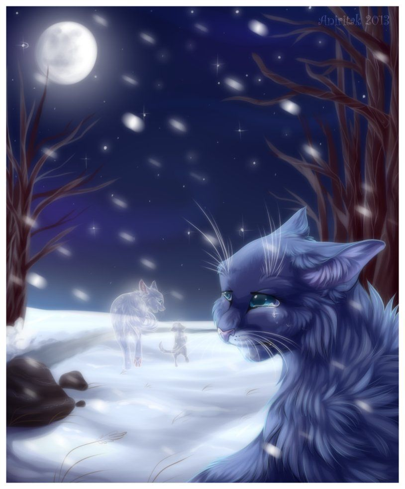 Snowfur Escorting Mosskit To Starclan Saddest Moment In