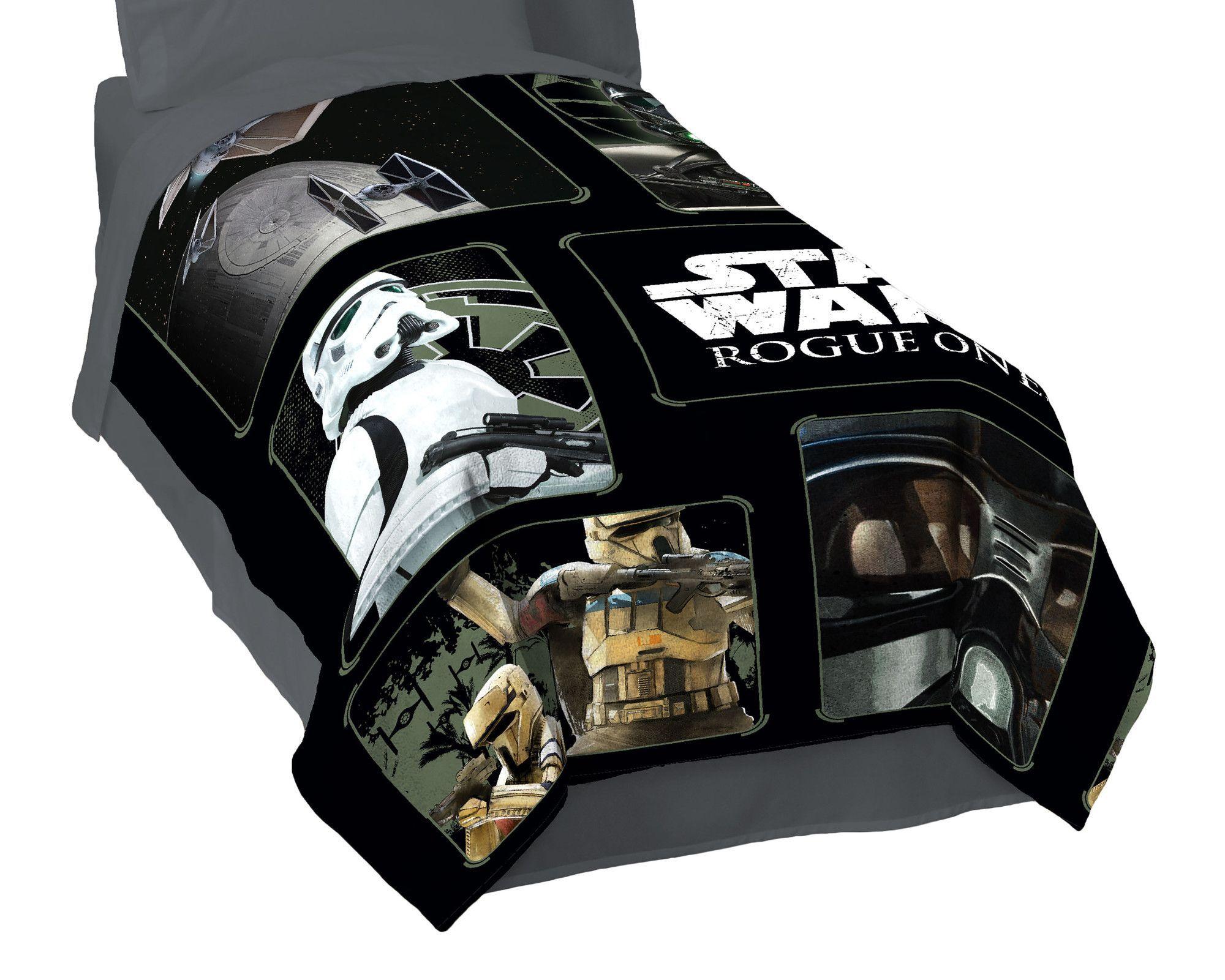 Disney Star Wars Rouge 1 Imperial Blanket Star wars bed