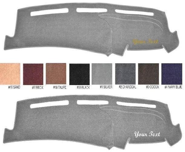 2002 #Dodge Ram 1500 embroidered #Premium Custom Carpet Dash Cover-#Premium  Custo
